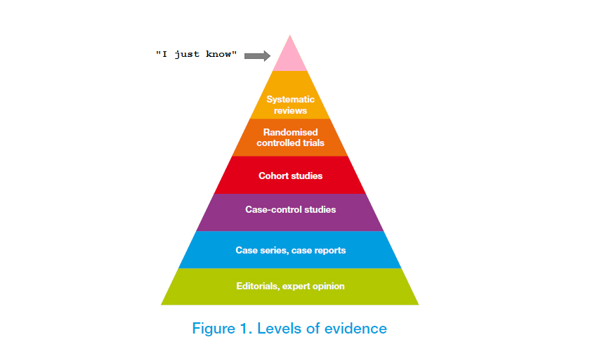hierarchy of evidence pyramid pdf